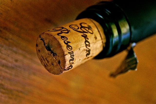 Korken Wein