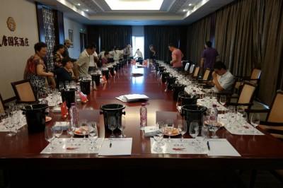 Weinprobe China