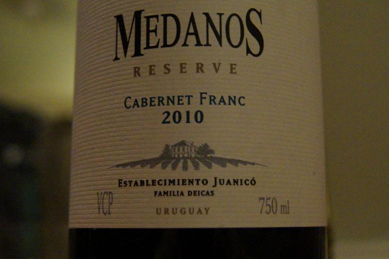 Medanos cabernet franc uruguay