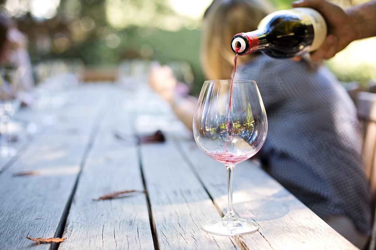 Weintrinken Geschmack