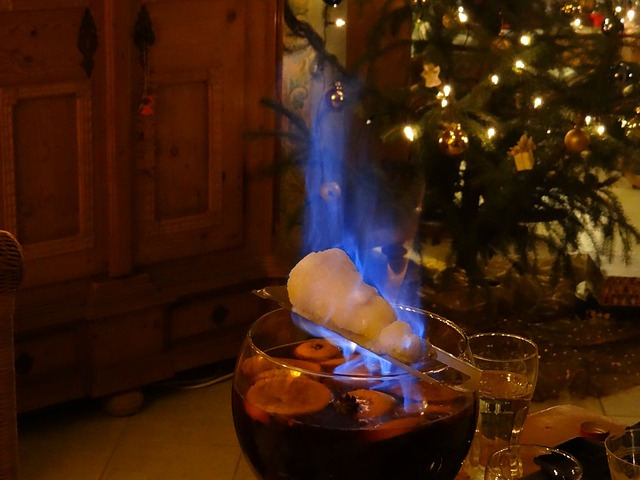 Zuckerzange Feuerzangenbowle